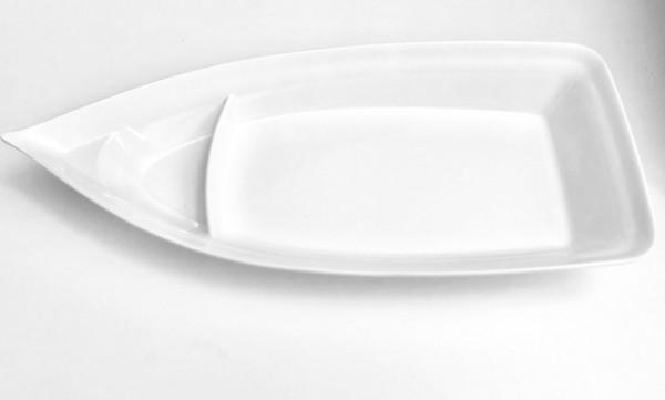 Schiff in weiß 35x 15x 5 cm