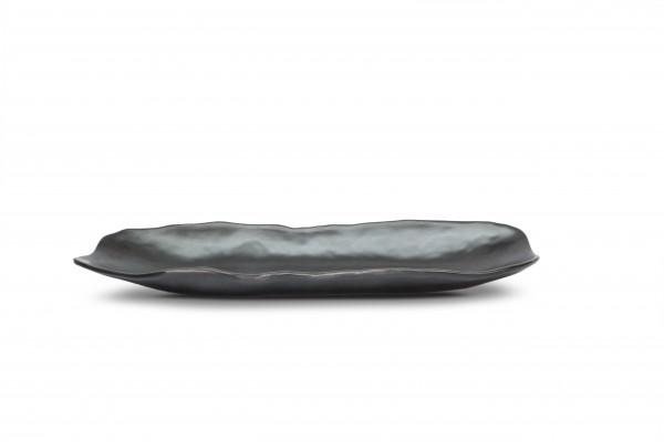 Sushiplatte 34 x 11 x 3,4 cm, schwarz matt