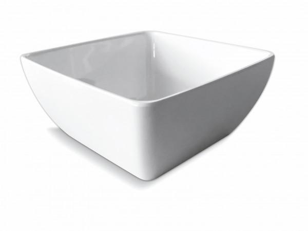 Melamin Diamond Schüssel 19 x 19 cm, weiß