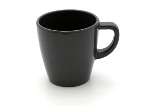 Melamin Kaffeebecher 300 ml, grau