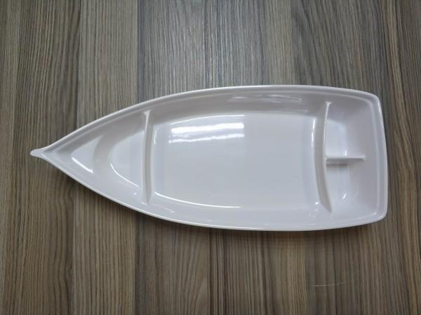 Kinderschiff 38,5x 16,5 cm, weiß
