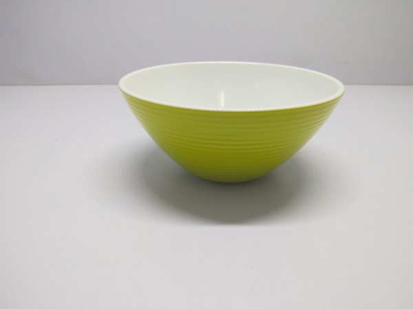 Schüssel 16 cm/ 500 ml , grün-weiß