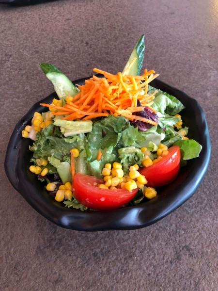 Suppen-/Salat Schale 19,5x5,5x7,2 cm, schwarz matt