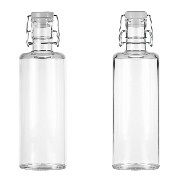 "Flasche""Quader"""
